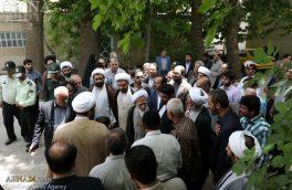 گزارش تصویری/ ورود آیت الله جوادی آملی به شهرستان دماوند