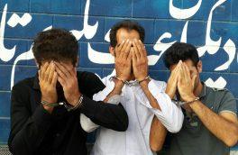 دستگیری باند ۵ نفره سارقان اماکن خصوصی در شهر آبعلی