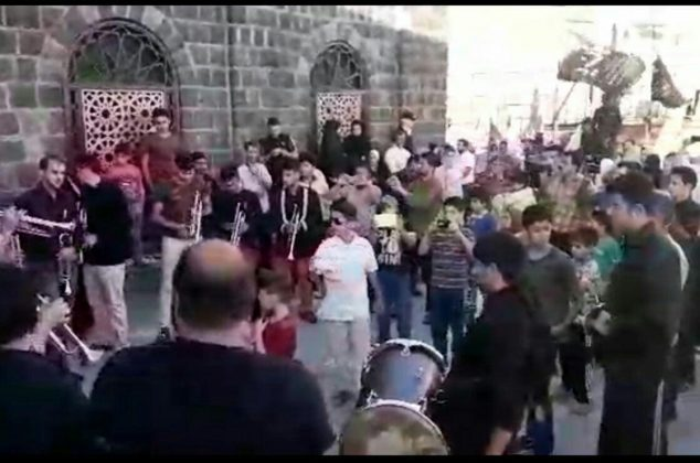 اجرای گروه موزیک آل یس دماوند در حرم مطهر امامزاده هاشم (ع) دماوند