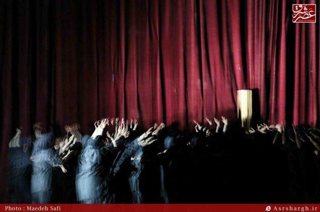 گزارش تصویری/ نمایش «من» در دماوند روی صحنه رفت