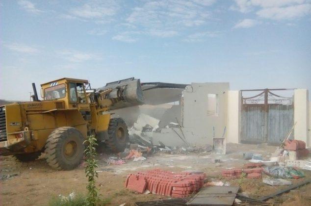 فیلم/ تخریب ۲۰۰ فقره ساخت و ساز غیرمجاز در دماوند