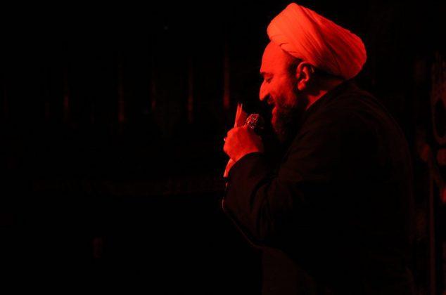 گزارش تصویری/ حال و هوای هیأت محبان فاطمه الزهرا(س) دماوند در شب تاسوعای حسینی