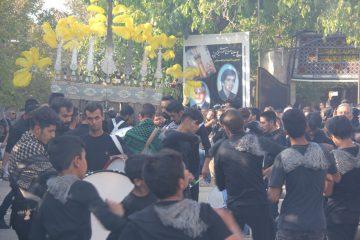 گزارش تصویری/ مراسم عزاداری روز تاسوعای حسینی در شهر کیلان