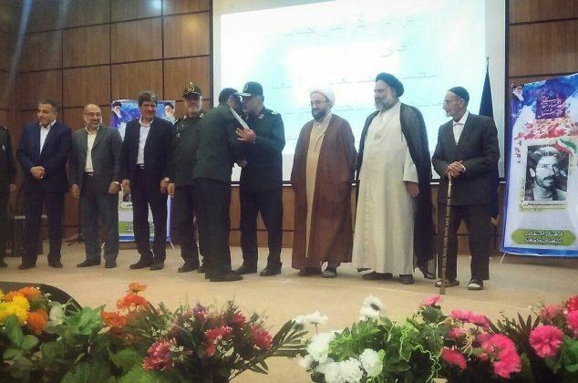 معارفه فرمانده جدید ناحیه مقاومت بسیج شهرستان دماوند