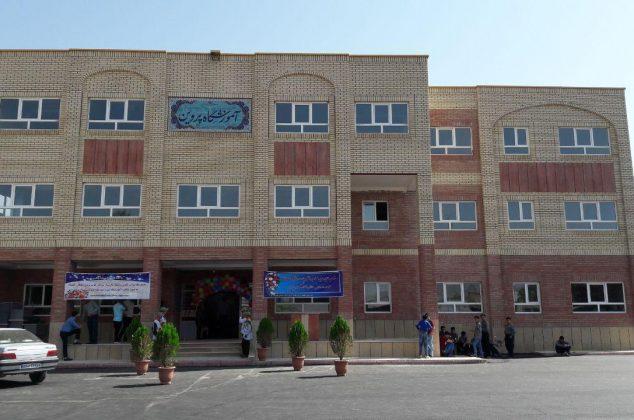 افتتاح مدرسه خیرساز سلطان العلما در آبسرد