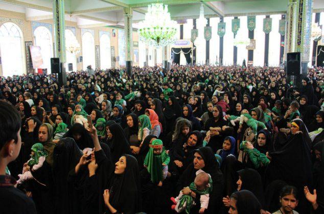 گزارش تصویری/ همایش بزرگ شیرخوارگان حسینی دماوند