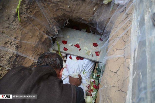 بازگشت شهید پرویز قرایی به خانه پس از ۳۱ سال