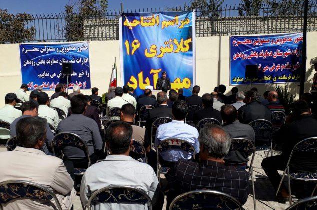 افتتاح کلانتری در مهرآباد رودهن