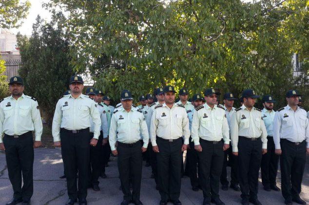صبحگاه مشترک نیروهای مسلح شهرستان دماوند