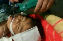 کودک ۱۸ ماهه غرق شده در استخر احیای قلبی ریوی شد