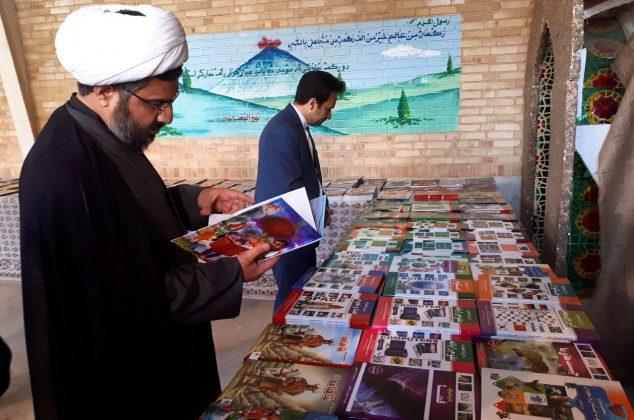 افتتاح نمایشگاه کتاب در مدرسه زینبیه دماوند