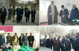 بازدید مدیرکل اوقاف استان تهران از پروژه بازسازی امامزادگان ساران کیلان