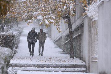 وقوع بارش برف در روز شنبه در دماوند/ کولاک برف برای روز یکشنبه در دماوند پیشبینی میشود