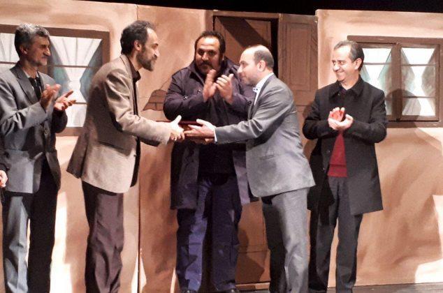 آیین نکوداشت «سیاوش فضلی» پیشکسوت تئاتر در دماوند