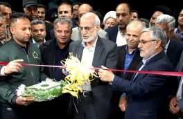 افتتاح ساختمان اداری آبفا و ۲ طرح ورزشی در شهر آبسرد