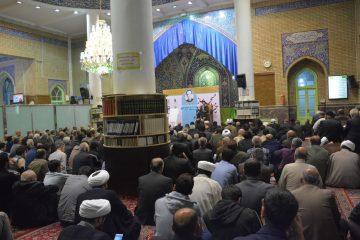 فیلم/ مراسم بزرگداشت خیر مسجدساز در دماوند