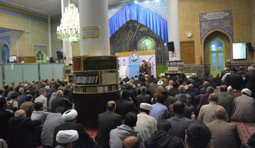 مراسم بزرگداشت خیر مسجدساز در دماوند