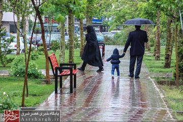 آغاز بارش باران به صورت پراکنده از پنجشنبه در دماوند/ دمای دماوند در روز جمعه کاهش مییابد