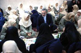 حضور وزیر آموزش و پرورش در ضیافت افطاری مدرسه شبانهروزی کیلان/ بطحایی با دانشآموزان کیلان دیدار کرد+ گزارش تصویری