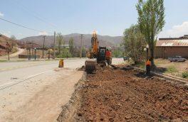 اجرای عملیات پروژه تعریض و احداث بلوار در محله کردر کیلان/ پروژه جدولگذاری معابر شهر کیلان آغاز میشود