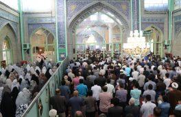 نماز شکرانه عید فطر در دماوند