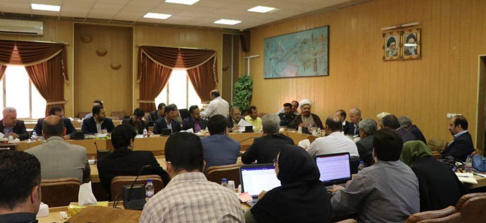 نشست شورای اسلامی استان تهران در دماوند