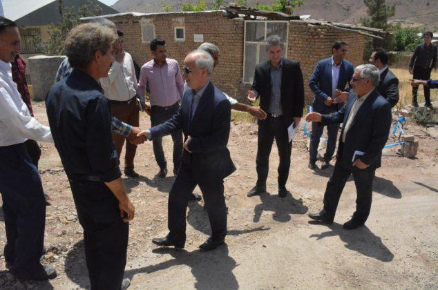 دیدار با اهالی روستاهای رودافشان، مشهد و یدره دماوند