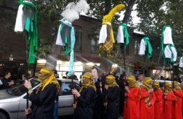 خیمههای نمادین اسرای کربلا در دماوند به آتش کشیده شد+ تصاویر
