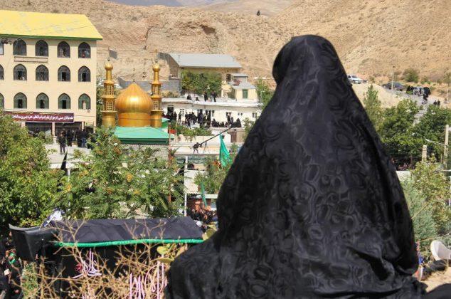 عاشورای حسینی در روستای زیارت