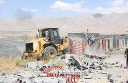 تخریب ۳۰ هکتار ساخت و ساز غیرمجاز در دماوند/ ۵ واحد ساختمانی غیرمجاز در آبسرد تخریب شد+ تصاویر