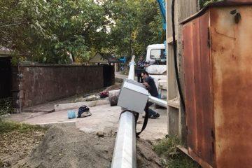 نصب دوربین های مداربسته پلاک خوان و دید در شب در روستای مراء/ اعتباری بالغ بر ۱۸۰ میلیون تومان