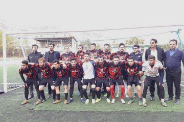 تیم شهرداری آبسرد فاتح مسابقات فوتبال جام زندهیاد محسن دهقانی+ تصاویر