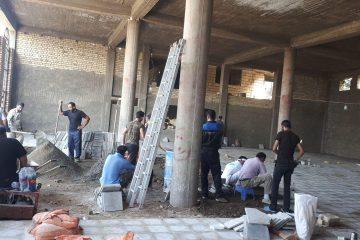 انجام عملیات تکمیل حسینیه شهرستان دماوند در کربلا/ چادرهای اسکان زائران در محل سالهای گذشته برپا میشود/ پروژه عمرانی تکمیل حسینیه همزمان با پذیرایی زائران انجام خواهد شد
