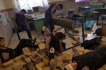 نمایش آمادگی دانشآموزان دماوندی برابر زلزله/ هفته پدافند غیرعامل گامی برای کاهش خسارات بلایای طبیعی+تصاویر