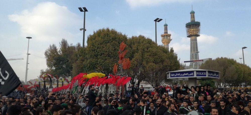 اتحاد هیأتهای مذهبی دماوند زیر پرچم رضوی