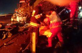 جزئیات تصادف زنجیرهای ۶ خودرو در محور فیروزکوه/ خوابآلودگی باز هم حادثه آفرید