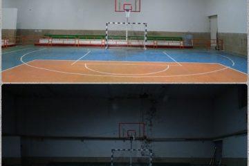 پایان فاز نخست بازسازی سالن ورزشی شهید مدنی شهر دماوند/ تعمیرات و بازسازی مجموعه ورزشی شهید مدنی در ۵ فاز انجام میشود+ تصاویر