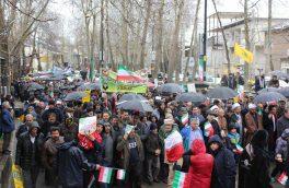 میثاق دیدنی مردم شهرستان دماوند با انقلاب/ برف و باران مانع شکوه حضور نشد+تصاویر