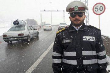 بارش برف در هراز و فیروزکوه/ هموطنان تا ۴۸ ساعت آینده از سفر خودداری کنند
