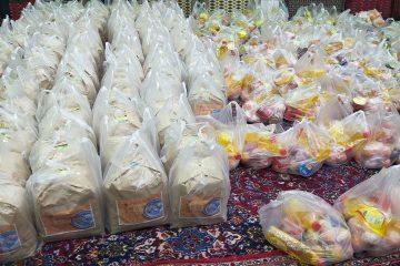 توزیع ۱۱۰ بسته مواد غذایی بین نیازمندان در دماوند/ ۴۳۰ پرس سبزیپلو با ماهی طبخ شد+ تصاویر