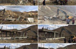 آزادسازی یکهزار مترمربع از بستر رودخانه تار در روستای زرهدر دماوند