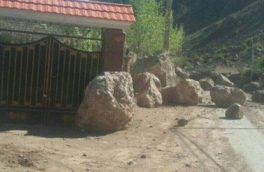 بازگشایی مسیر روستای «آتشان» فیروزکوه