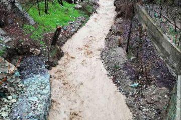اجرای طرح ساماندهی رودخانه «آه» آبعلی