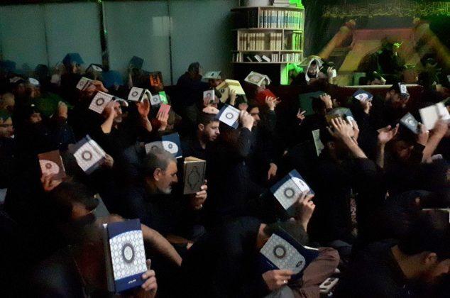 مداحی کربلایی مصطفی حاجاحمدی در شب قدر بیست و یکم
