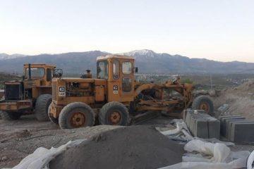 جلوگیری از ۲ ساخت و ساز غیر مجاز در دماوند/ ۷ دستگاه ماشینآلات توقیف شد
