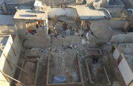 یک کشته بر اثر حادثه ریزش آوار ساختمانی در دماوند