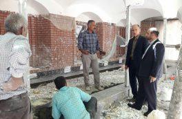ساماندهی گلزار شهدای محله درویش دماوند تسریع میشود+ تصاویر