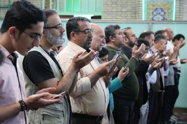 اقامه نماز بندگی در دماوند