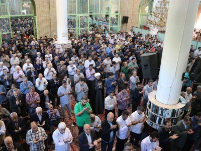 اقامه نماز وحدتبخش «عید فطر» در شرق تهران