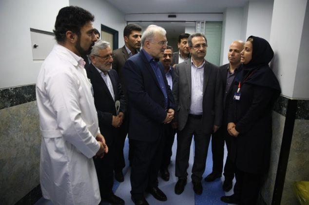 سفر وزیر بهداشت به شهرستان دماوند